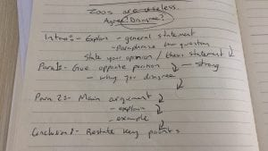 IMG 4219 300x169 - Selecting Ideas and Structuring an Essay [IELTS Writing Task 2]