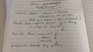 IELTS Structure Plan