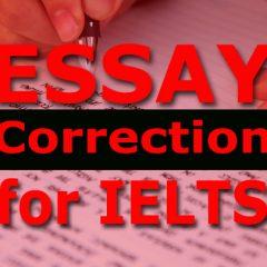 Essay Correction: Family Topic [Task 2]