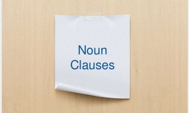 A Simple Guide to Noun Clauses