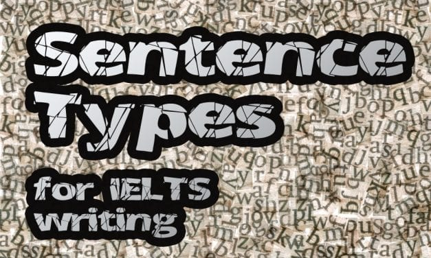 Essential IELTS Grammar: Sentence Types