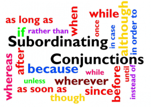 subordinators 300x212 - Essential IELTS Grammar: Sentence Types