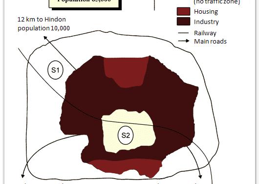 Describing a Map of Garlsdon [IELTS Writing Task 1]