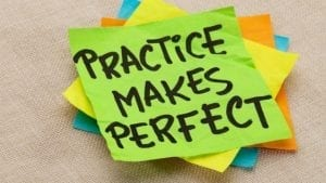 practice perfect 300x169 - How to Improve your IELTS Writing