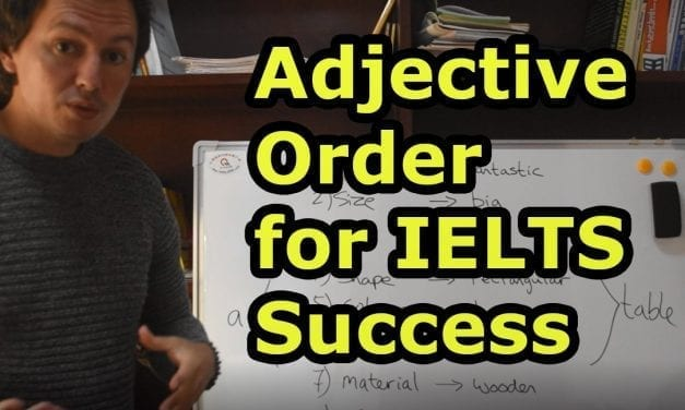New Video: Adjective Order