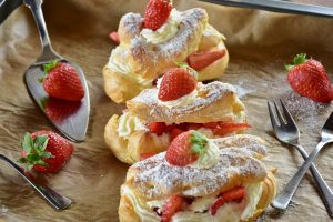 eclairs 300x200 - IELTS Speaking Topic: Cooking