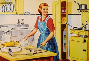 mother cooking 300x205 - IELTS Speaking Topic: Cooking