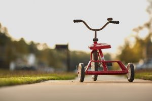 tricycle 300x200 - IELTS Speaking Topic: Childhood