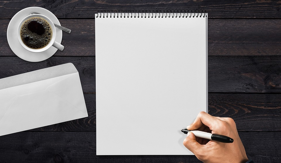 writing pad - How to Improve your English Vocabulary