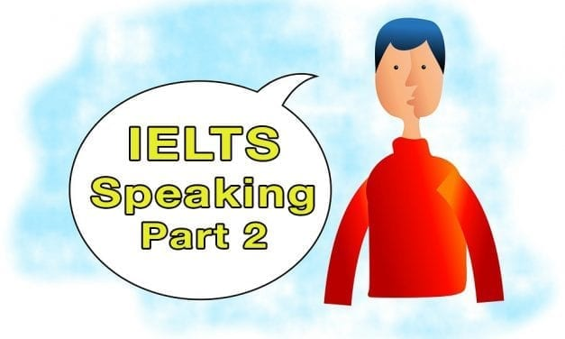 IELTS Speaking Part 2