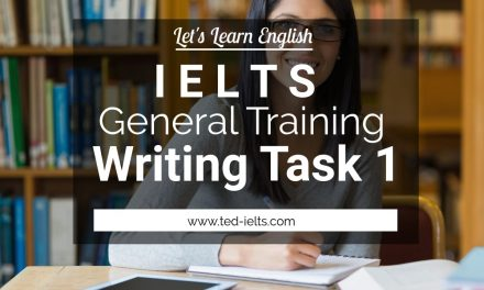 How to Succeed in General Training Writing Task 1