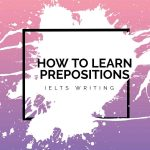How to Learn Prepositions