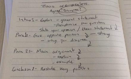 Structuring an IELTS Task 2 Essay