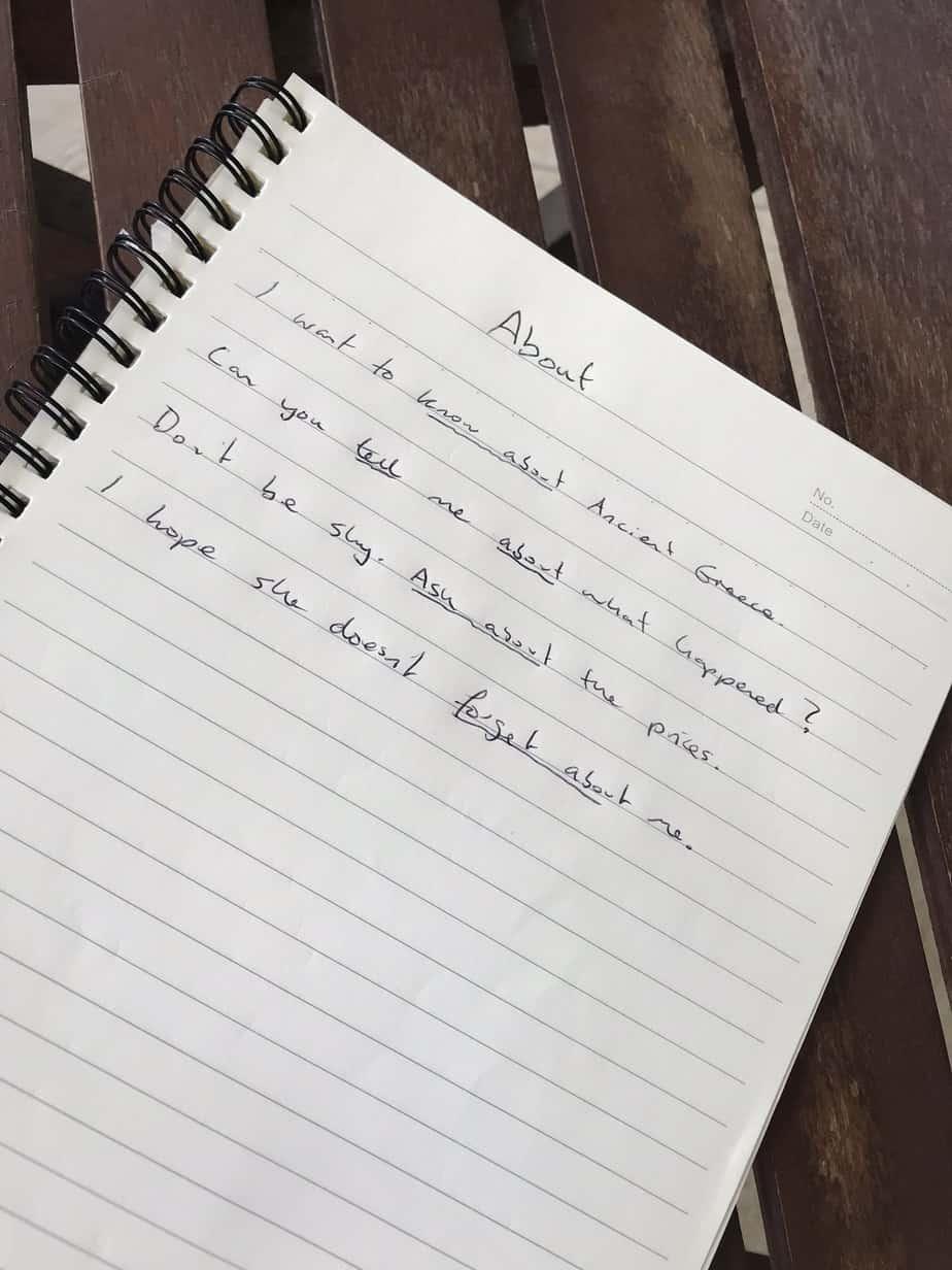 preposition notebook