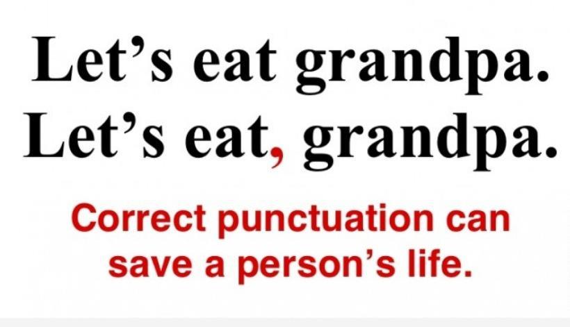 Let's eat, Grandpa