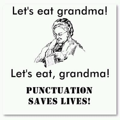 Oxford Comma Grandma