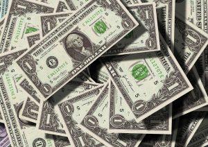 dollar bill ynfg8j 300x212 - IELTS Topic: Money [Speaking, Writing, and Vocabulary]