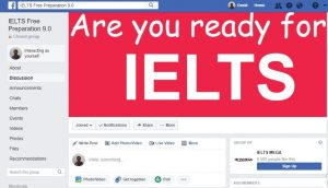 facebook ielts group