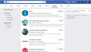 ielts on facebook