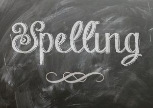 spelling dyglst 300x212 - 10 IELTS Listening Tips