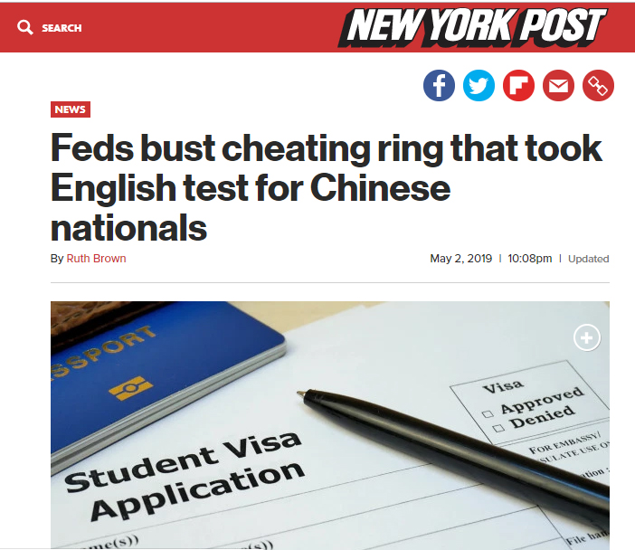 chinese cheating - IELTS is Unfair!