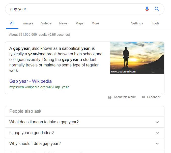 gap year - IELTS is Unfair!
