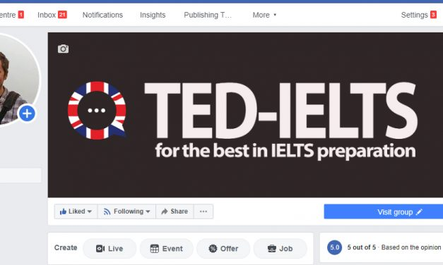 IELTS Help on Facebook