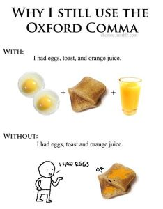 oxford comma joke 234x300 - Is the Oxford Comma Necessary for IELTS?