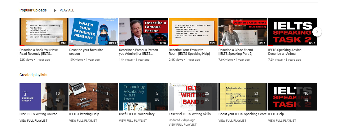 Recent YouTube Videos