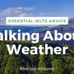 IELTS Topics: Weather