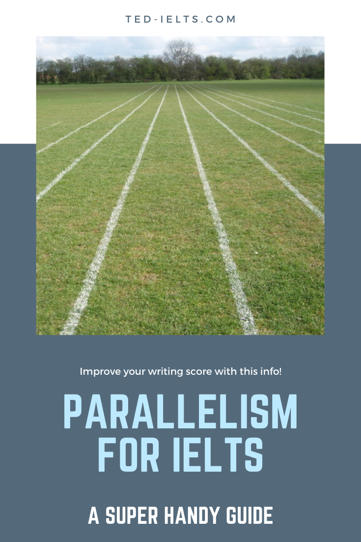 parallelism for ielts writing