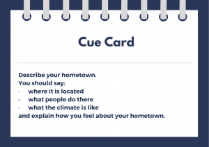 ielts cue card for hometown