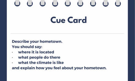 Describe your Hometown [IELTS Cue Card]