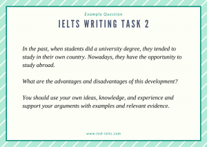 ielts question advantages and disadvantages