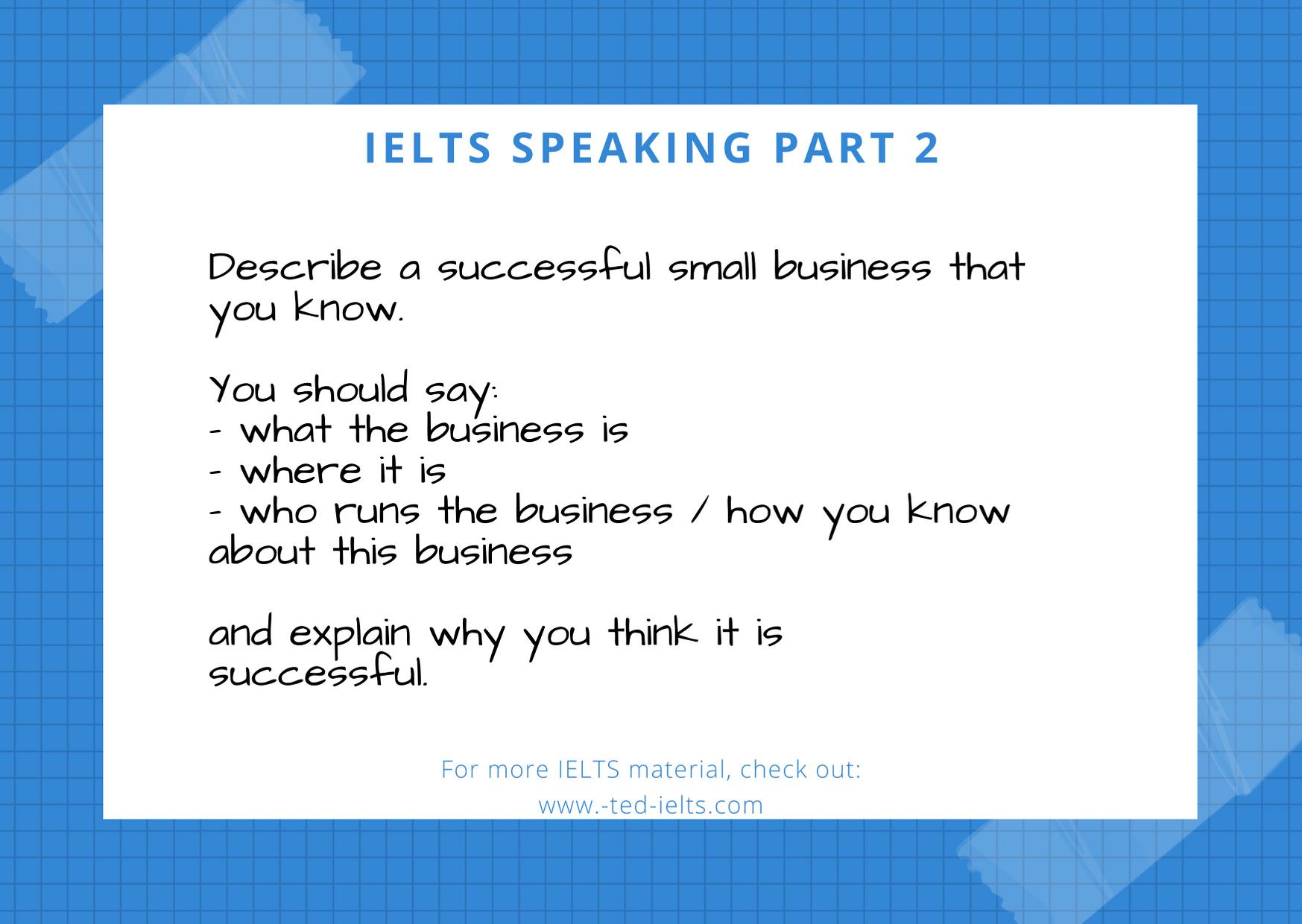 describe a successful small business