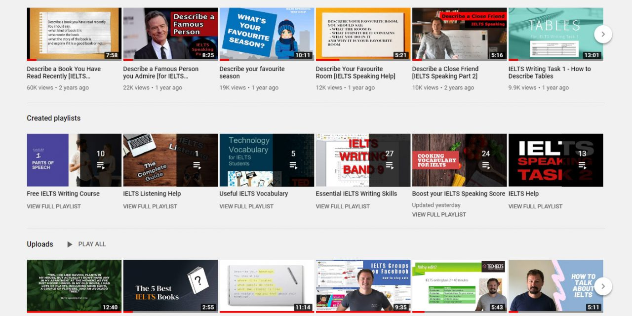Videos to Help you With IELTS Speaking