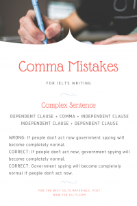 comma mistakes for ielts 200x300 - Common Grammar Mistakes [for IELTS Writing Candidates]