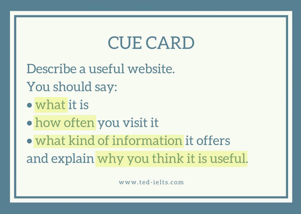 keywords 1024x727 - Describe a Website [IELTS Speaking Part 2]