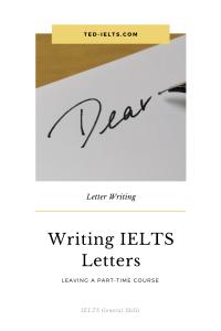 ted ielts.com 200x300 - Sample IELTS Letter: Leaving a Course
