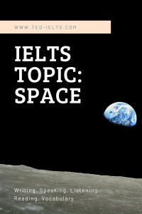 ielts topic space