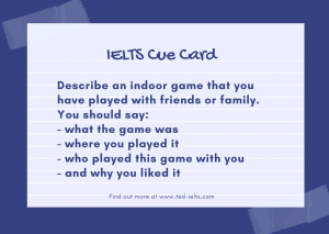 Violet and Blue Note Get Well Soon Card 300x213 - Describe an Indoor Game [IELTS Cue Card]