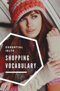 ielts topic: shopping
