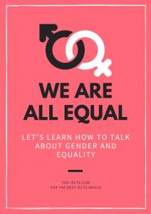 gender equality for ielts