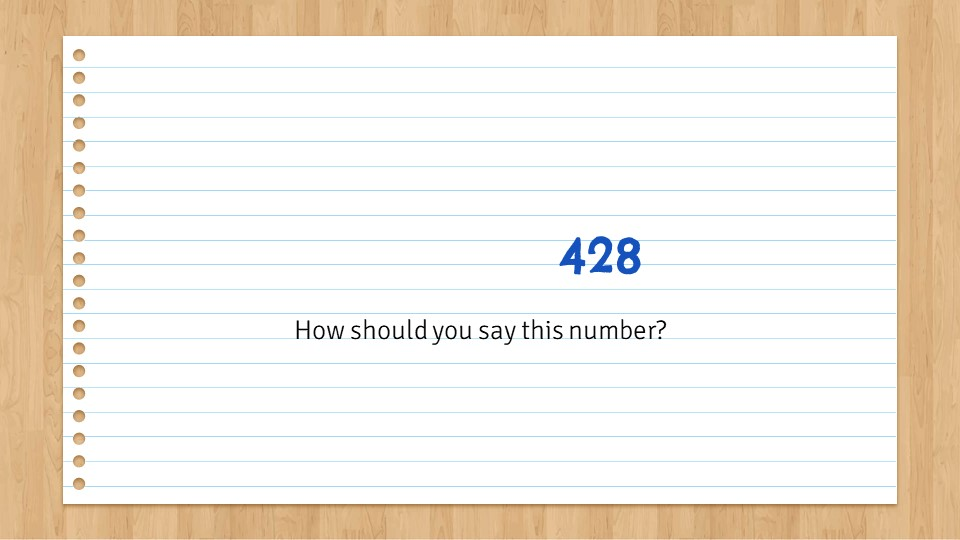 Slide3 - How to Use Numbers for IELTS