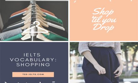 IELTS Topics: Shopping