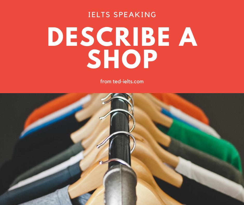 describe a shop
