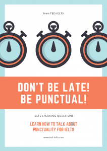 some questions about punctuality