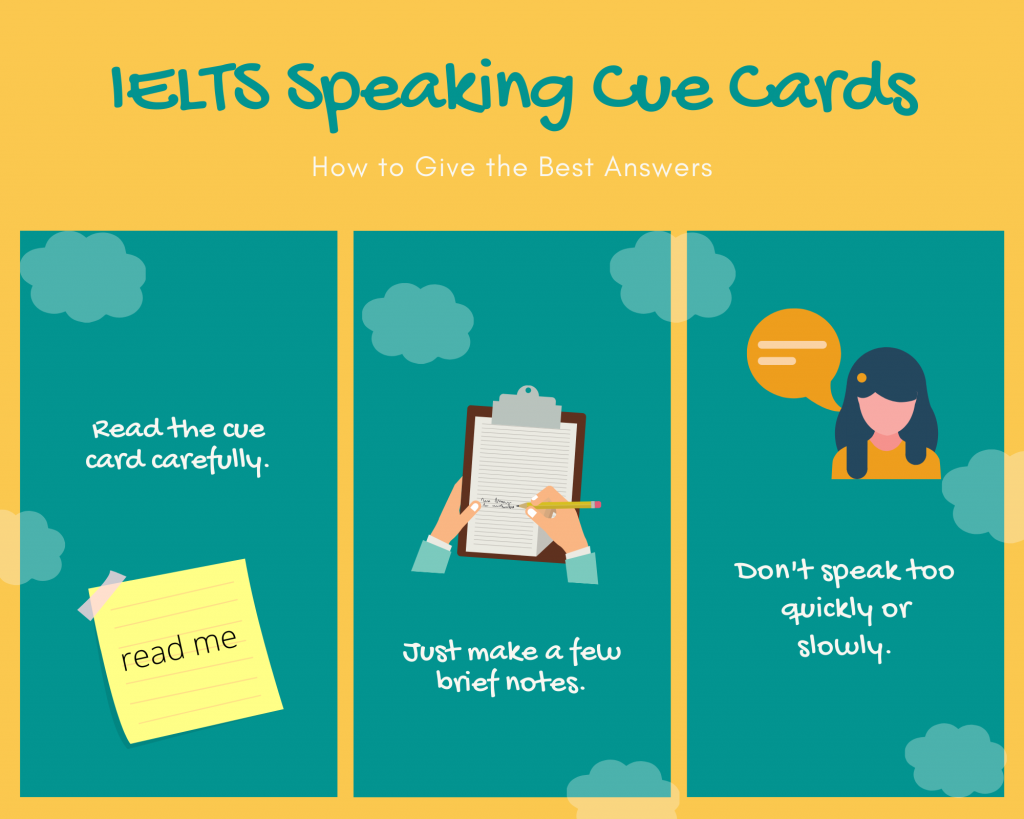 how to answer ielts speaking part two question