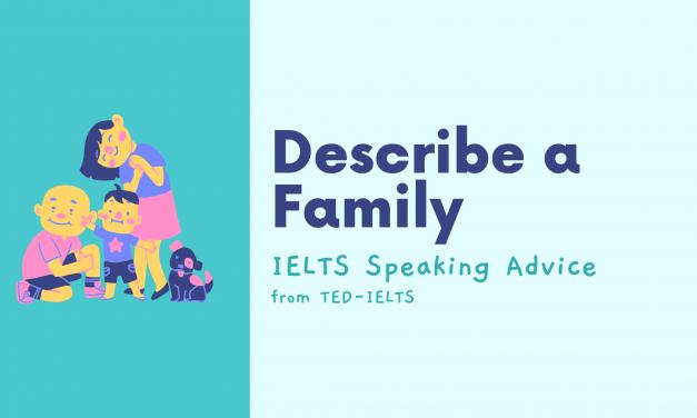 Describe a Family [IELTS Speaking]