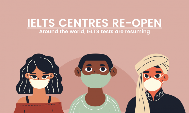 IELTS Centres Re-opening Around the World